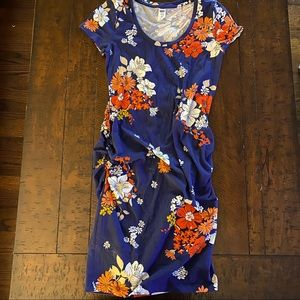 Old Navy Fitted Maternity Dress